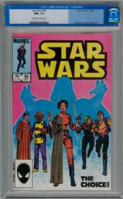 Star Wars #90 1984 CGC 9.6 Princess Leia Darth Vader Marvel comic book